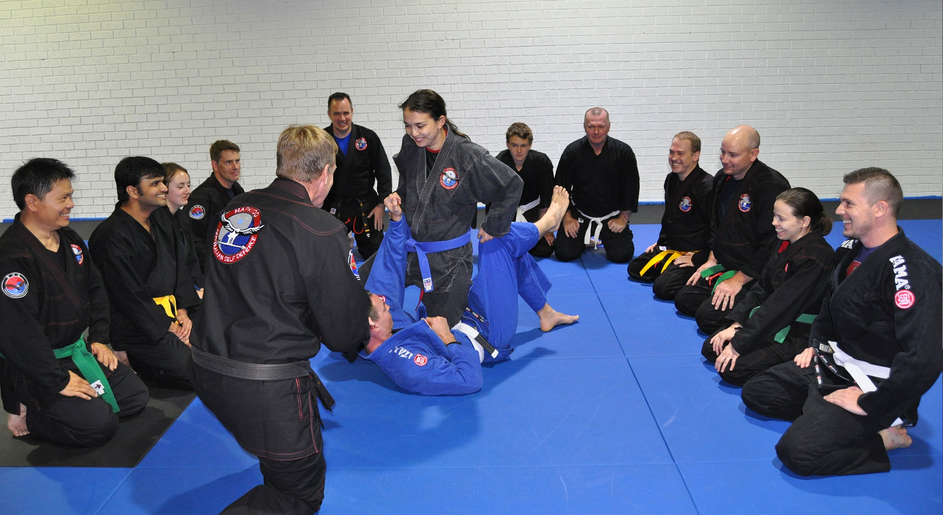 Australian Self Defence Adults Brazilian Jiu Jitsu Martial Arts Training Canberra